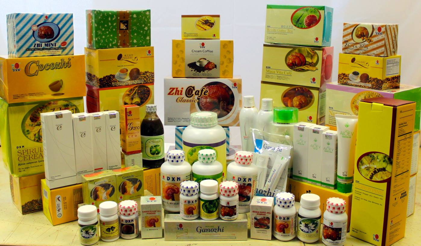 DXN Products - DXN Ganoderma Coffee and Network Marketing Business
