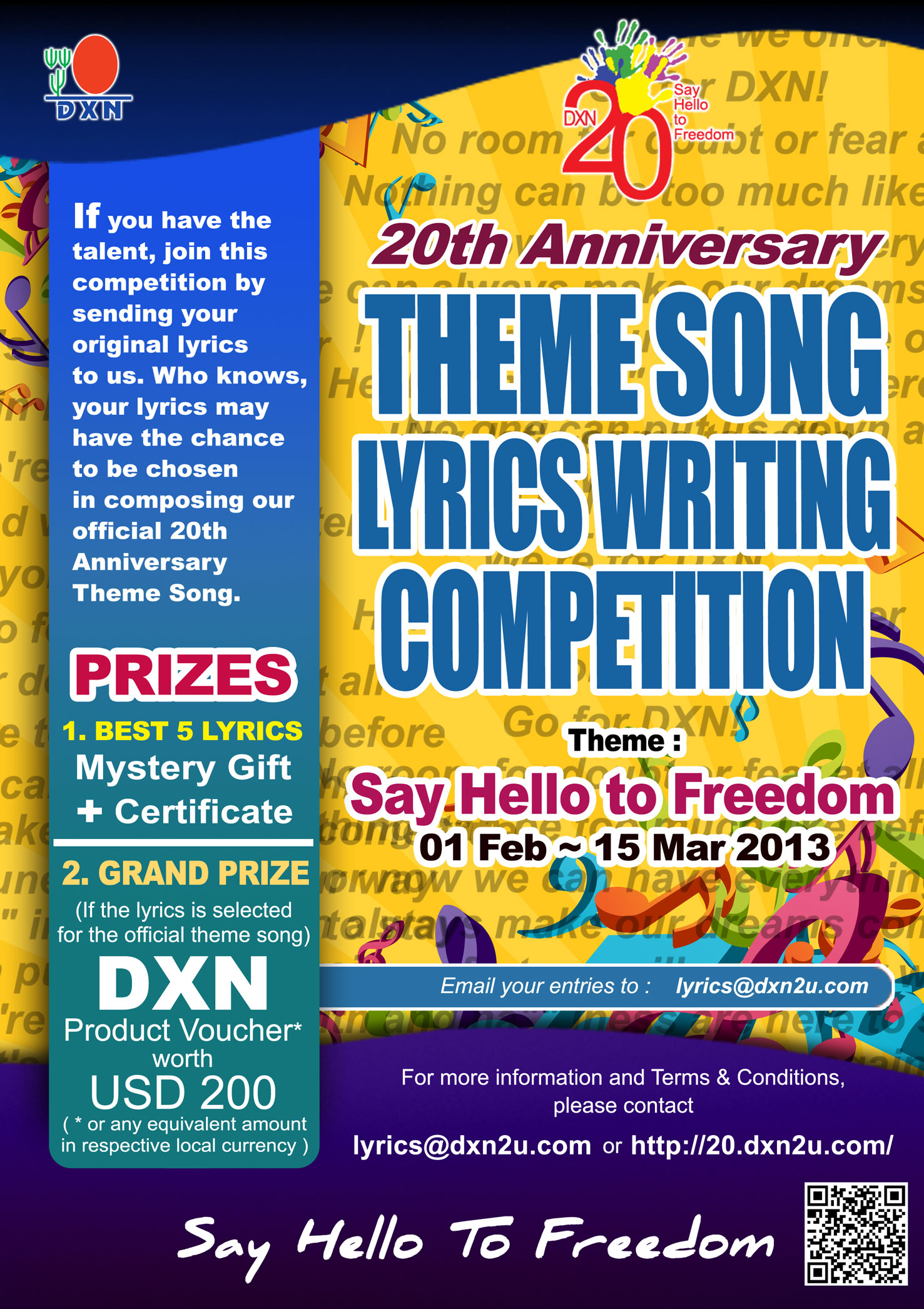 dxnthemesongcompetition