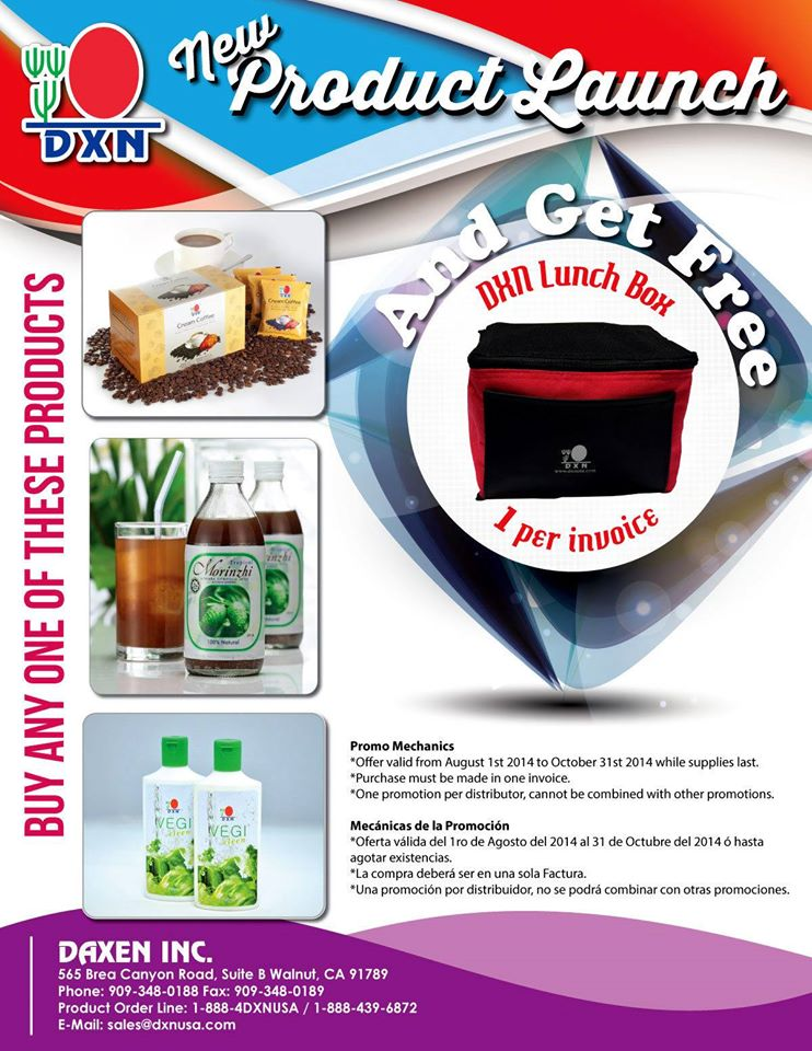 DXN-new-product-launch