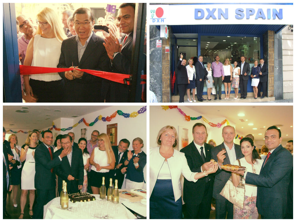 DXN Madrid Office open