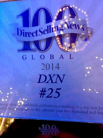DXN is in the TOP Direct Selling Companies