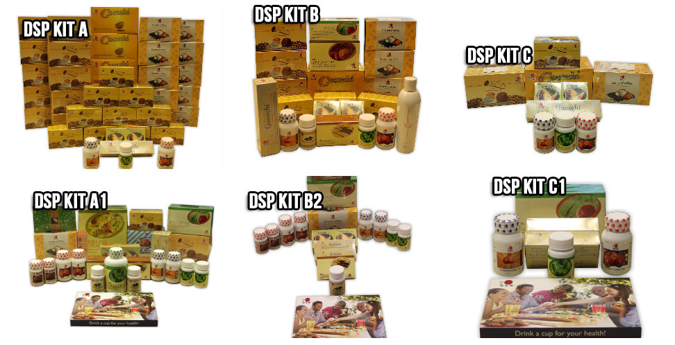 DXN DSP Kits in DXN Europe System