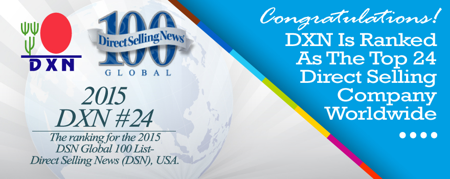 DXN is a TOP Direct Selling Company in the world in 2016