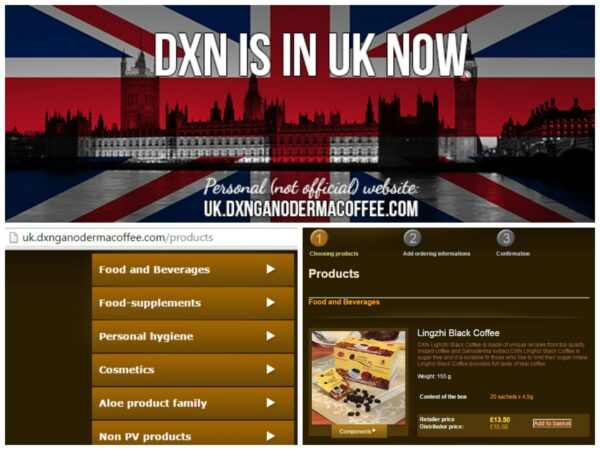 DXN UK order and registration