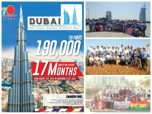 DXN Dubai TSI USA South America