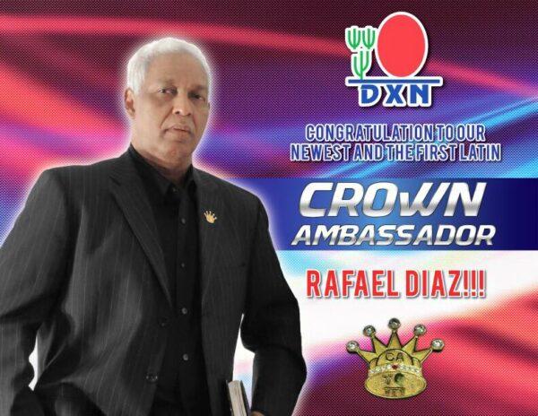 Latin American DXN Crown Ambassador Rafael Diaz