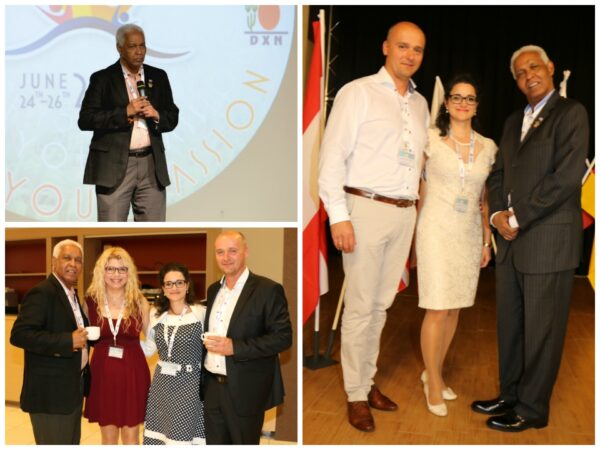 Latin American DXN Crown Ambassador in Europe