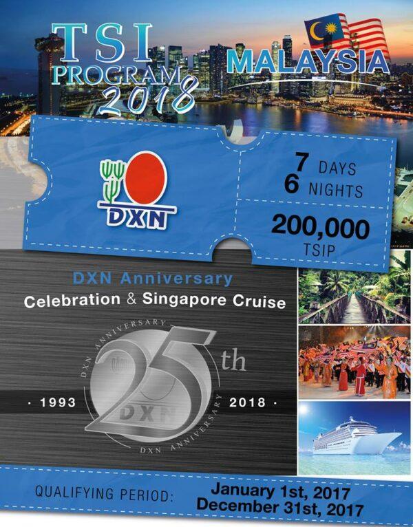 DXN TSI Program 2018