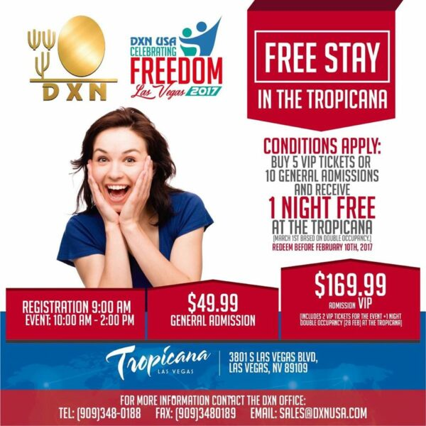 DXN USA Celebrating Freedom