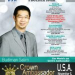 Budiman Salim DXN Roadshow in the USA