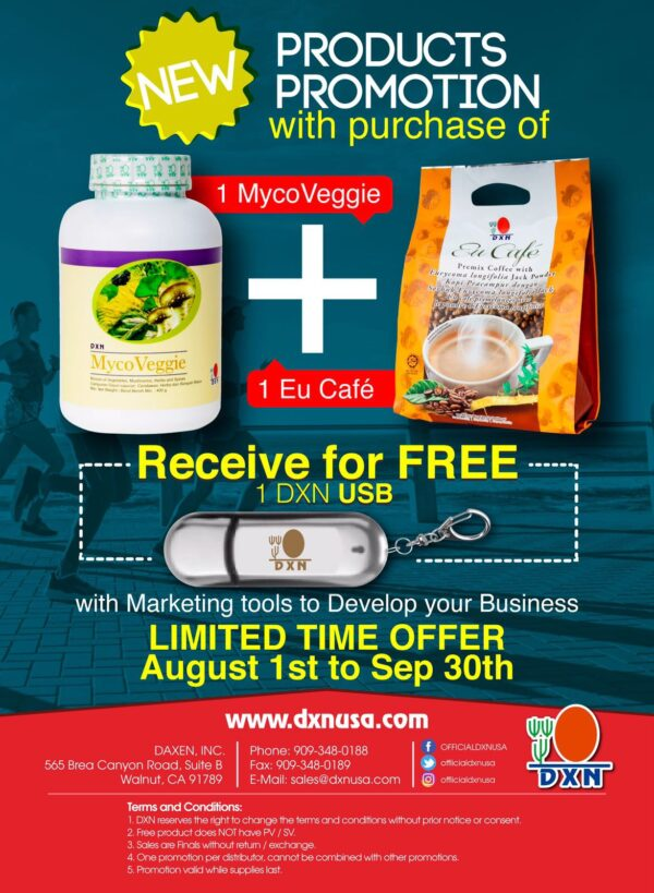 DXN USA Products Promotion