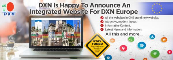 DXN Europe Website