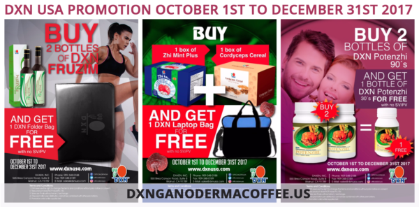 DXN USA Promotion Extra Gift