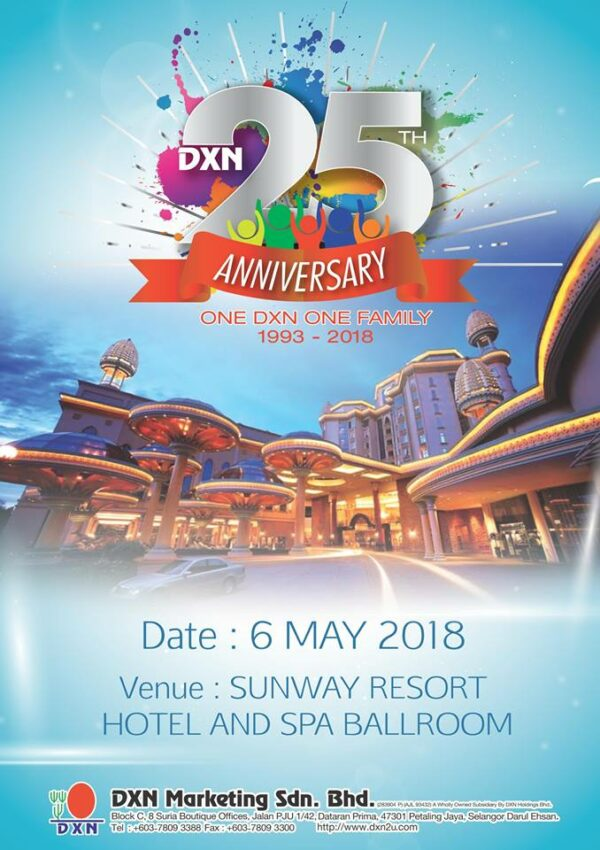 DXN Malaysia 25th Anniversary