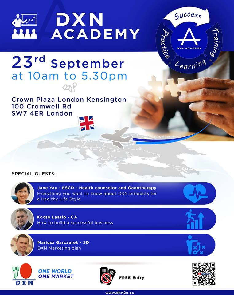 DXN Academy UK London