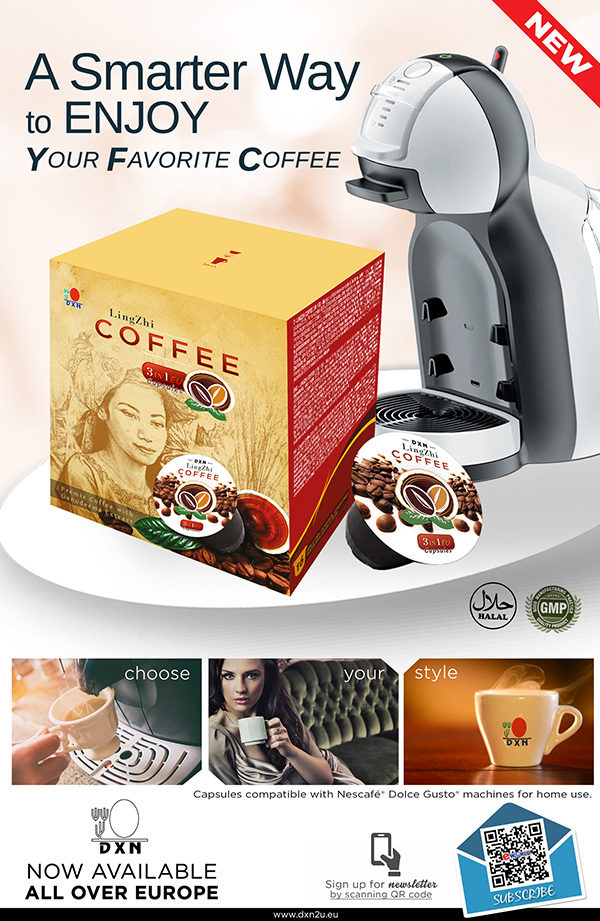 Ganoderma Coffee Capsules