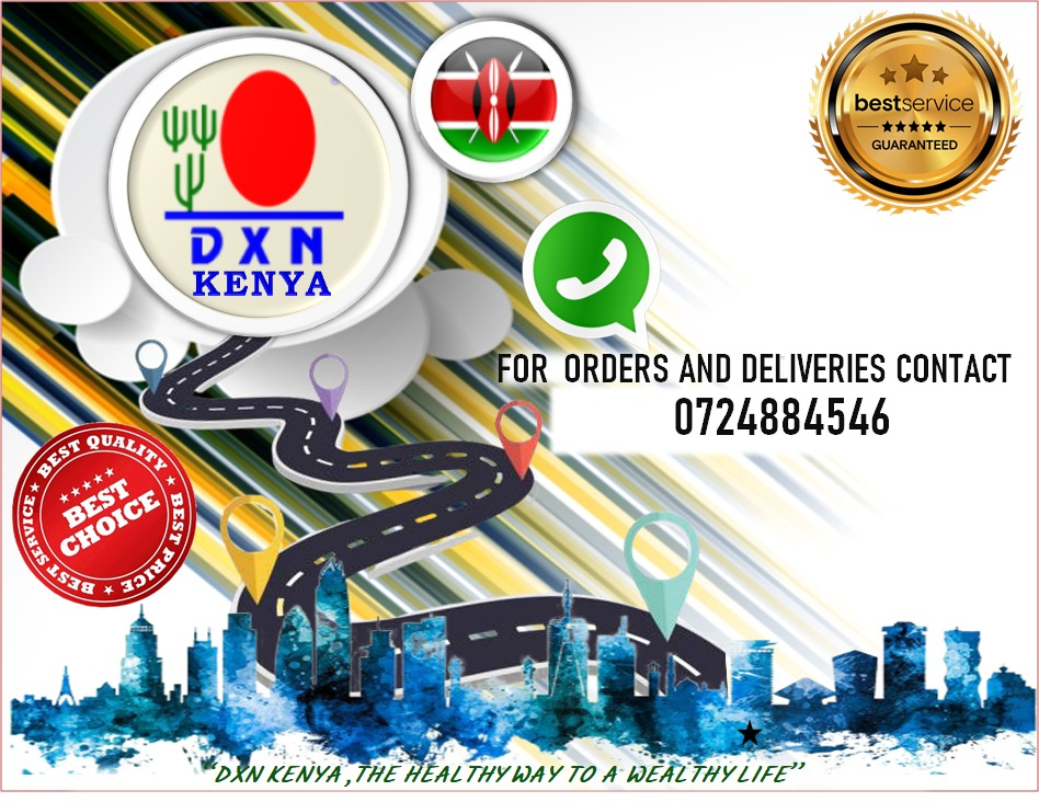 DXN KENYA Product Delivery contact