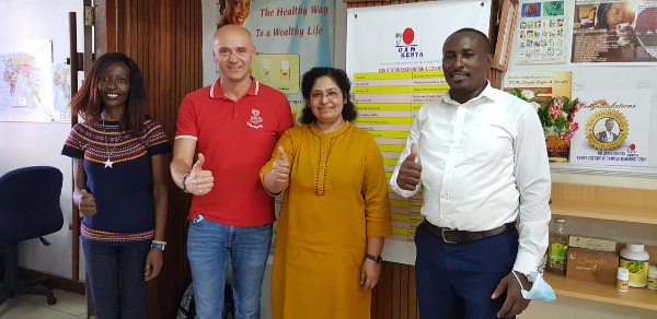 DXN Kenya Office visit