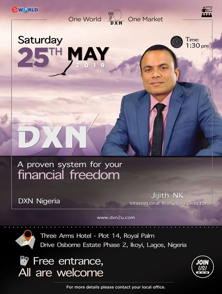 DXN Nigeria presentation