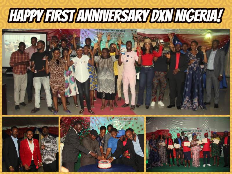 Happy First Anniversary DXN Nigeria